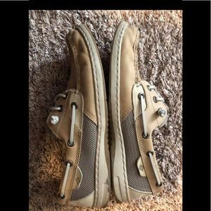 Women's top sider bluefish sperrys